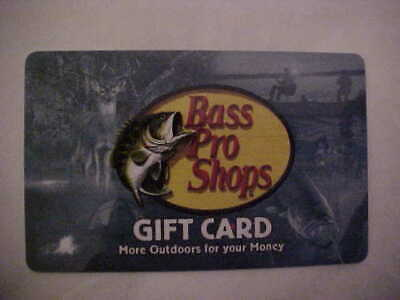 Bass Pro Shops $10 Gift Card,  + Good At Cabela's, In Stores & Online, Free Ship
