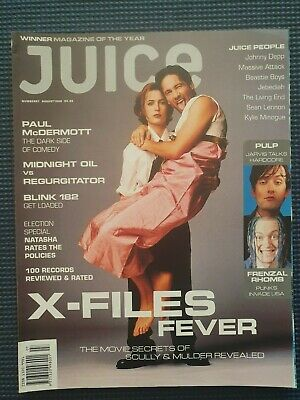 JUICE Magazine #67 Aug 98 The X - Files Movie, Pulp, Massive Attack
