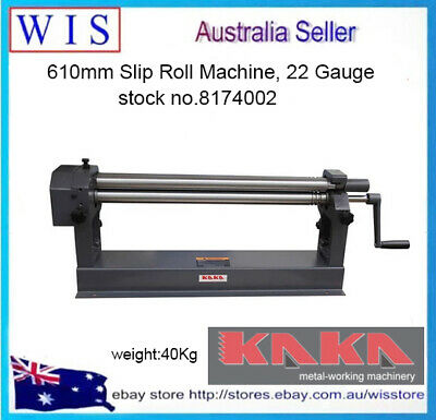 610mm Slip Roll Machine, 22 Gauge, Solid Sheet Metal Slip Roll Machine-8174002