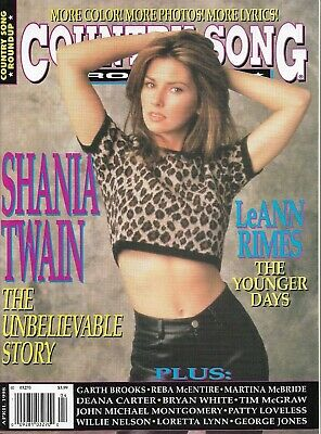 SHANIA TWAIN - COUNTRY SONG Round-Up Mag - April 1998 - LeANN RIMES - BRAND NEW