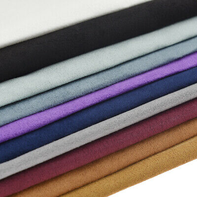 High Quality Faux Suede Microfiber Upholstery Curtain Car Interior A3 Fabric DIY