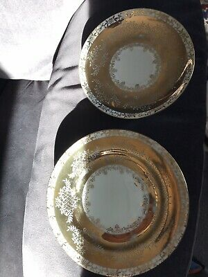 Japanese Made China Trio, Cup, Saucer And Bread And Butter Plate