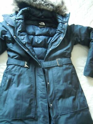 The North Face Brooklyn Parka Navy Ladies Size M 10/12