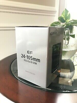 Canon EF 24-105mm f/3.5-5.6 STM IS Lens - Brand new. Never used.