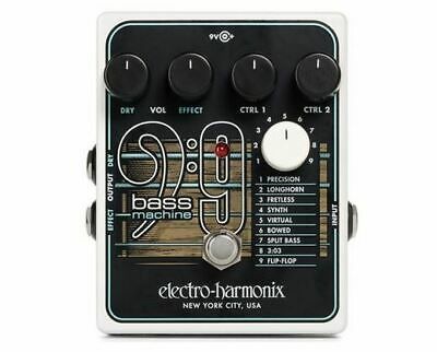 Electro-harmonix BASS9 Bass Machine Effects Pedal