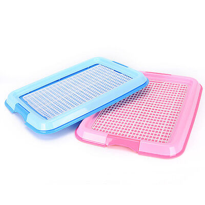 Indoor Puppy Dog Pet House Potty Training Pee Pad Mat Tray Toilet Odorless W6ON