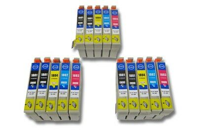 15x Cartucce d'inchiostro PER Epson Expression Home XP-30, XP-302, XP-305