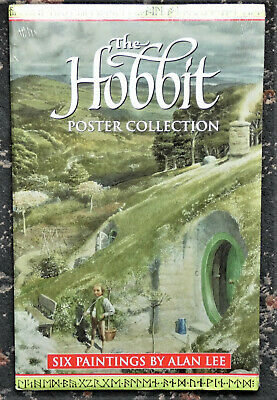 The Hobbit Poster Collection - Six Paintings By Alan Lee - Still Sealed