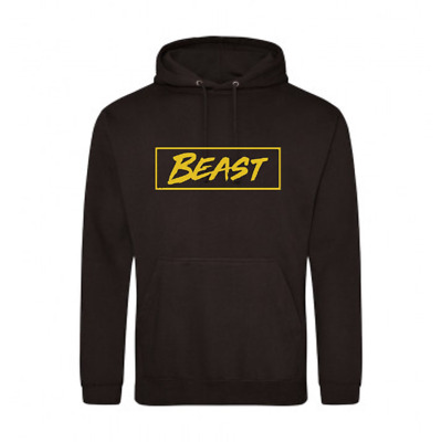 Mr Beast Box Hoodie Youtuber Gamer Black With Gold Hoodie For Fans