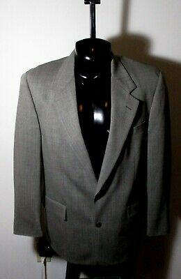 Men's BROOKS BROTHERS Gray Taupe Blazer Suit Jacket Size 41R