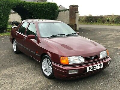 Framed Picture 30x20 Inch Canvas Art 1988 Ford Sierra Sapphire RS Cosworth