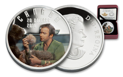 Canada Star Trek Tribulation Silver 20$ 2016