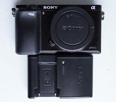 Sony a6000 24.3MP (Body Only) Digital Camera Only 3 Shutter Count