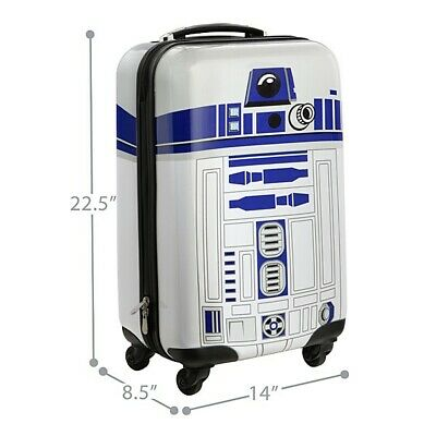 Thinkgeek Star Wars R2D2 Carry-On Suitcase New With Tags