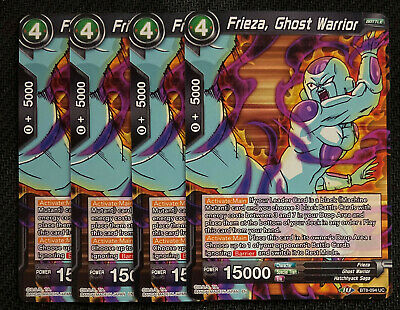 4x Agony of Hell Frieza TB1-079 UC Dragon Ball Super TCG Near Mint