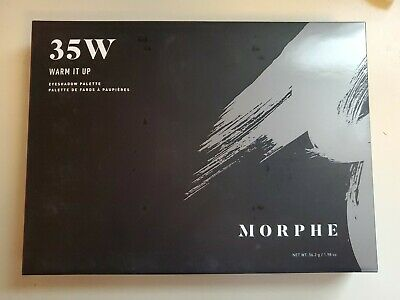 Morphe 35W Warm it up eyeshadow palette BNIB