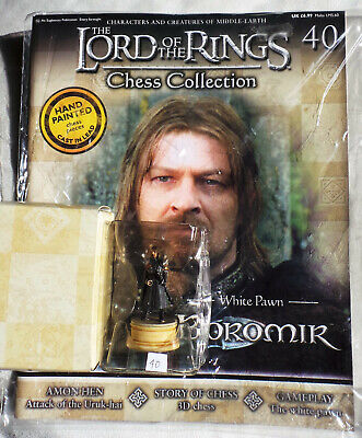 MAGAZINE LORD OF THE RINGS CHESS COLLECTION 37 WARG EAGLEMOSS FIGURINE