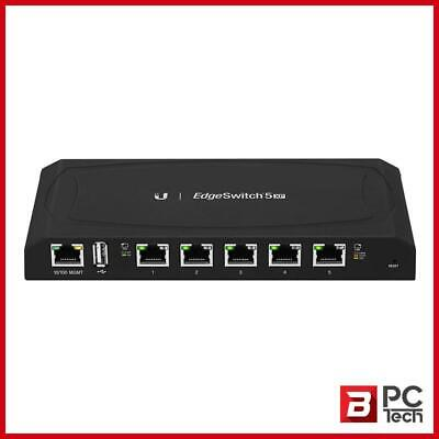 Ubiquiti ToughSwitch 5-Port PoE Gigabit Managed Switch (Previously TS-5-POE)