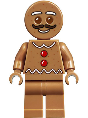 hol115 NEW LEGO Gingerbread Man Dark Orange FROM SET 5005156 HOLIDAY /& EVENT