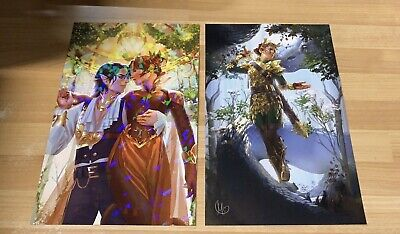 Queen Of Nothing Owlcrate Art Prints