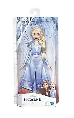 Disney Frozen Elsa Fashion Doll with Long Blonde Hair & Blue Outfit -Ships Free