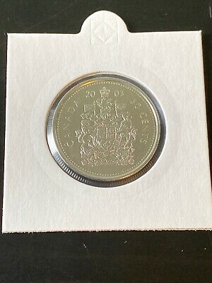 SUPER SALE!! 2003 Canada Fifty 50 Cent Proof-Like Coin Very RARE!
