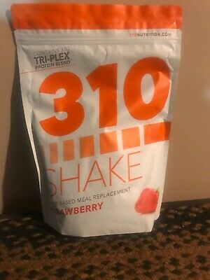310 Strawberry Nutrition shake mix-28 servings