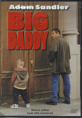 BIG DADDY (DVD, 2005, Adam Sandler, Cole Sprouse/Dylan Sprouse, Comedy) - NEW