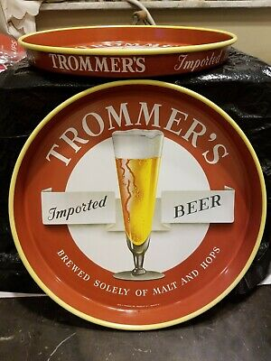 1 Vintage Pre-Owned Trommer's Beer Tray From The 1950'S