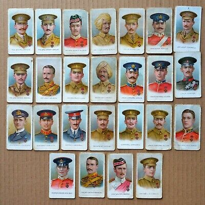 Full Set Of  25 Wills WW1 Victoria Cross Heroes Cigarette Cards