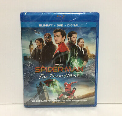 Spider-Man Far From Home, 2019 (Blu-Ray + DVD + Digital) FAST SHIPPING!