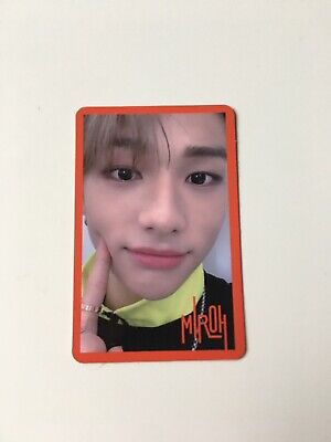 STRAY KIDS Hyunjin Clé 1: Miroh Official PC Red Border Version Photocard