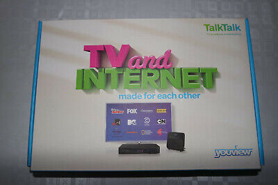 Brand New TalkTalk Youview, Huawei, DN360T Receiver with Catch-Up TV UK