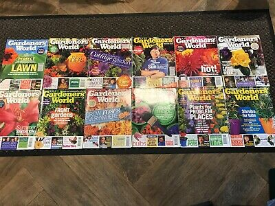 12 Vintage1997 Gardeners World Magazines - excellent - Geoff Hamilton featured
