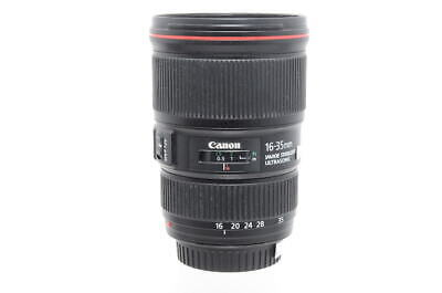 Used Canon EF 16-35mm F4 L IS Lens (Boxed, SH33655)