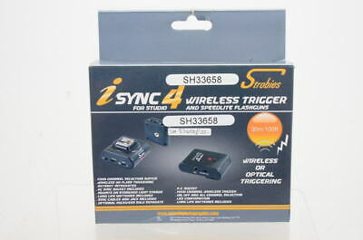 Used Interfit Strobes Wireless Trigger Set STR130 (Boxed, SH33658)