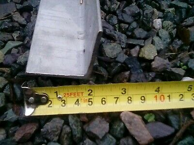 Stainless Steel Grade 304, 50mm x 50mm x 3mm Angles