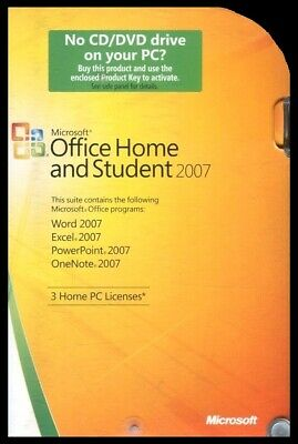 Microsoft Office Home And Student 2007 -  Licensed For 3 PC