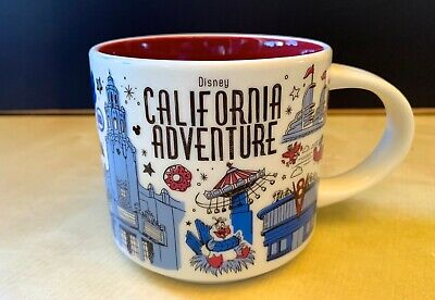 starbucks Disneyland DCA California Adventure Been There mug Disney YAH