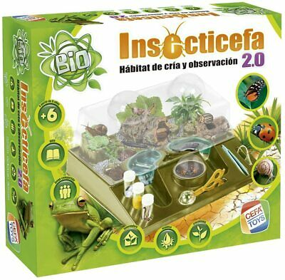 Cefa Toys Insecticefa, habitat de insectos Insecticefa 2.0 (Insecticefa 2.0)