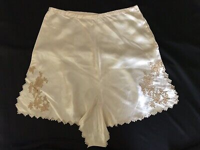 Vintage 40's 50s Kicker Briefs Nylon Panties Satin Hi cut Sissy Sz 4/6?