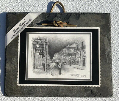 Antique Roofing Slate Tile Vieux Carre Royal Street New Orleans 175+ Years Old