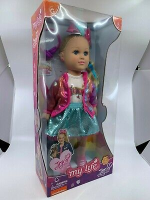 """My Life As JoJo Siwa Doll 2019 18"""" Doll Dance Party New Free Shipping - In Hand"""