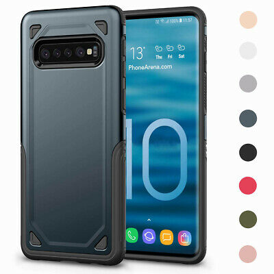 Shockproof TPU Hybrid Phone Case Cover For Samsung Galaxy S10 / S10+ / S10e 2019