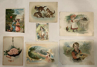 1890's Lion Coffee of Woolson Spice Co., Toledo, Oh., Advertising, 7 Pieces