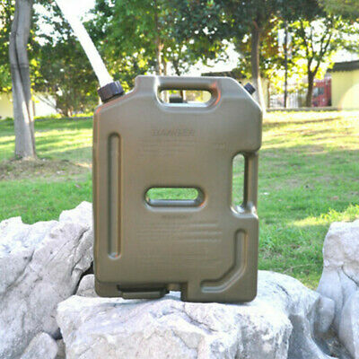 10L Jerry Can Fuel Container With Free Holder Spare Petrol Container Heavy Duty