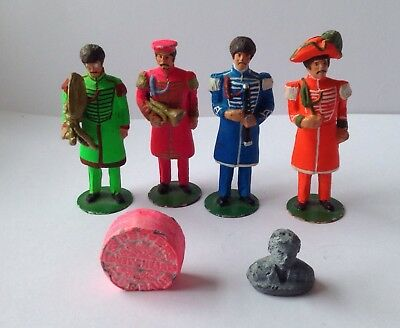 Lead Beatles Figures: Sgt Pepper's Lonely Hearts Club Band