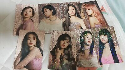 twice feel special broadcasting photocard set (choose ur member)