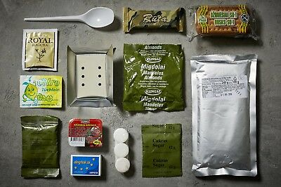 2X Lithuanian Military Ration- Army Food-MRE Meals Ready to Eat Survival Camping