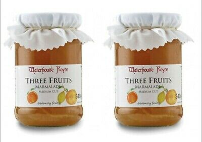Two Jars of Three Fruit Marmalade From Exmoor